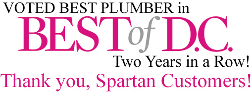 We won Best of DC, two years in a row! Thank you, Spartan Customers!