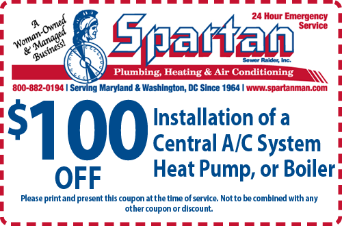 Central AC Installation Coupon