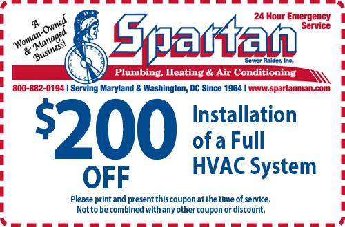 HVAC System Coupon