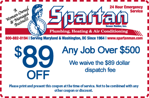 $89 Off Any Job Over $500